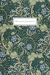 Bullet Journal: Beautiful Ornate Vintage Floral Print - Bullet Journal  | Dot Grid Pages (Journal, Notebook, Diary, Composition Book) (Vintage Print - Bullet Journals)
