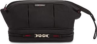 SWISSGEAR Toiletry Bag | Premium Men's and Women's Travel Dopp Kit | Travel Organizer for Bathroom, Gym, and Shower Toiletries – Black