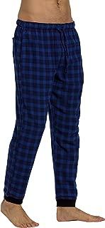 Men's 100% Cotton Flannel Jogger Pajama Lounge Pant