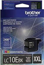 Brother Printer LC10EBK Super High Yield Black Ink Cartridge