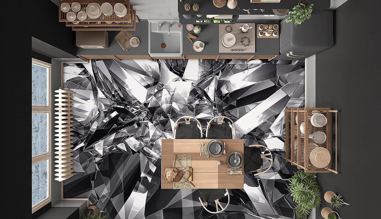 3D Black Gray Pattern 4519 Floor Low price Dec Max 53% OFF Wallpaper Murals Wall Print