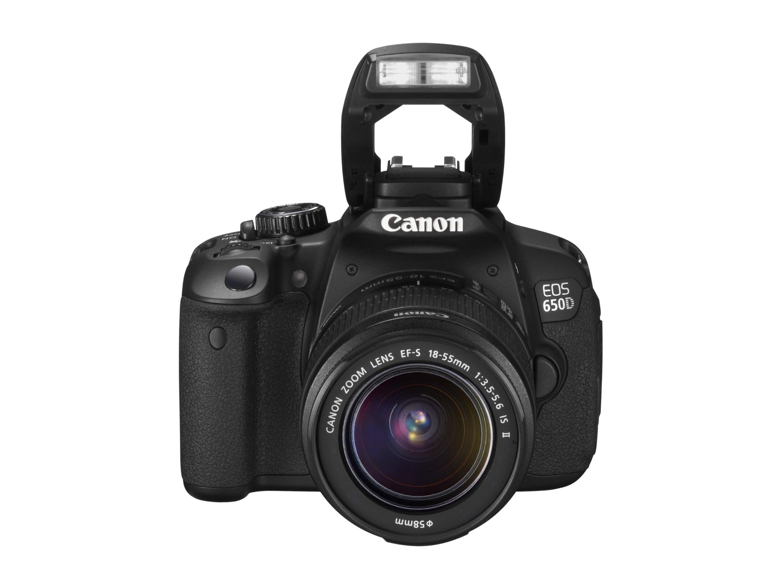 Canon EOS 650D - Cámara réflex de 18 Mp (pantalla táctil ...