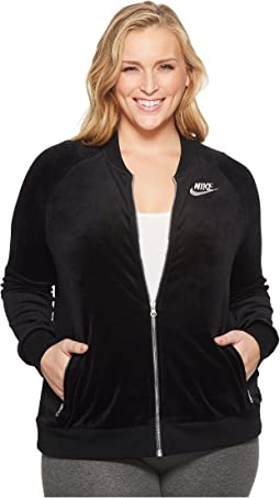 Nike - Sportswear Velvety Jacket (Size 1X-3X)