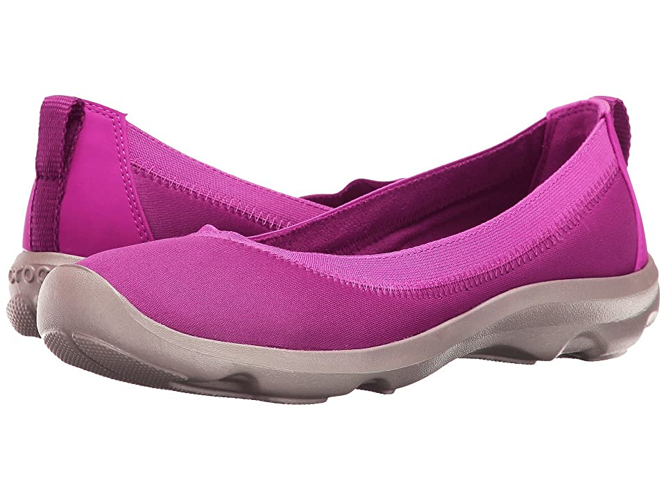 Crocs Busy Day Stretch Flat (Vibrant/Violet) Women