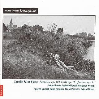 Saint-Saëns: Piano Quartet No. 1, Suite for Cello and Piano & Fantasy for Violin and Harp