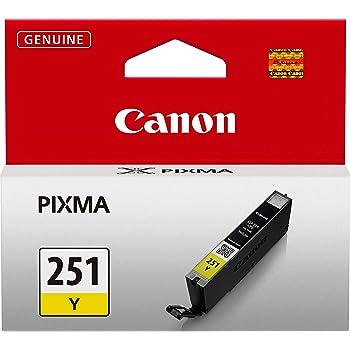 Canon CLI-251 Yellow Ink Tank Compatible to MG6320, IP7220 & MG5420, MX922, MG5520, MG6420, MG7120, iX6820, iP8720, MG7520, MG6620, MG5620