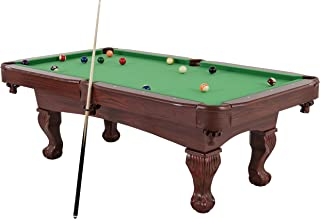 "Triumph 89"" Santa Fe Billiard Table Featuring Traditional Claw Feet and Drop Pockets"