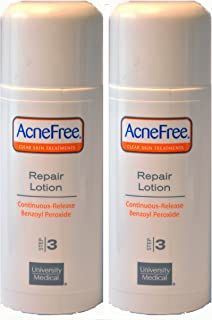 Acnefree Repair Lotion Value Pack 2 x 2 oz each = 4 Oz