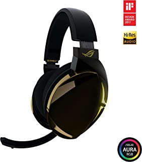 ROG Strix Fusion 700 Virtual 7.1 LED Bluetooth Gaming Headset for PC, PS4, and Nintendo Switch with Hi-Fi Grade ESS DAC, ESS Amplifier, Digital Microphone, Bluetooth and Aura Sync RGB Lighting
