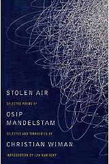 Stolen Air: Selected Poems of Osip Mandelstam Capa comum