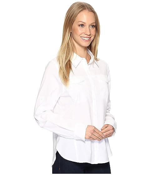 manga Silver Lite de blanca Camisa larga Ridge Columbia P57fvw