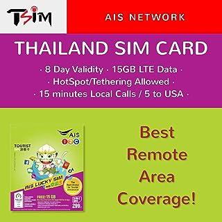 TSIM Thailand SIM Card (AIS 15GB/8Day)