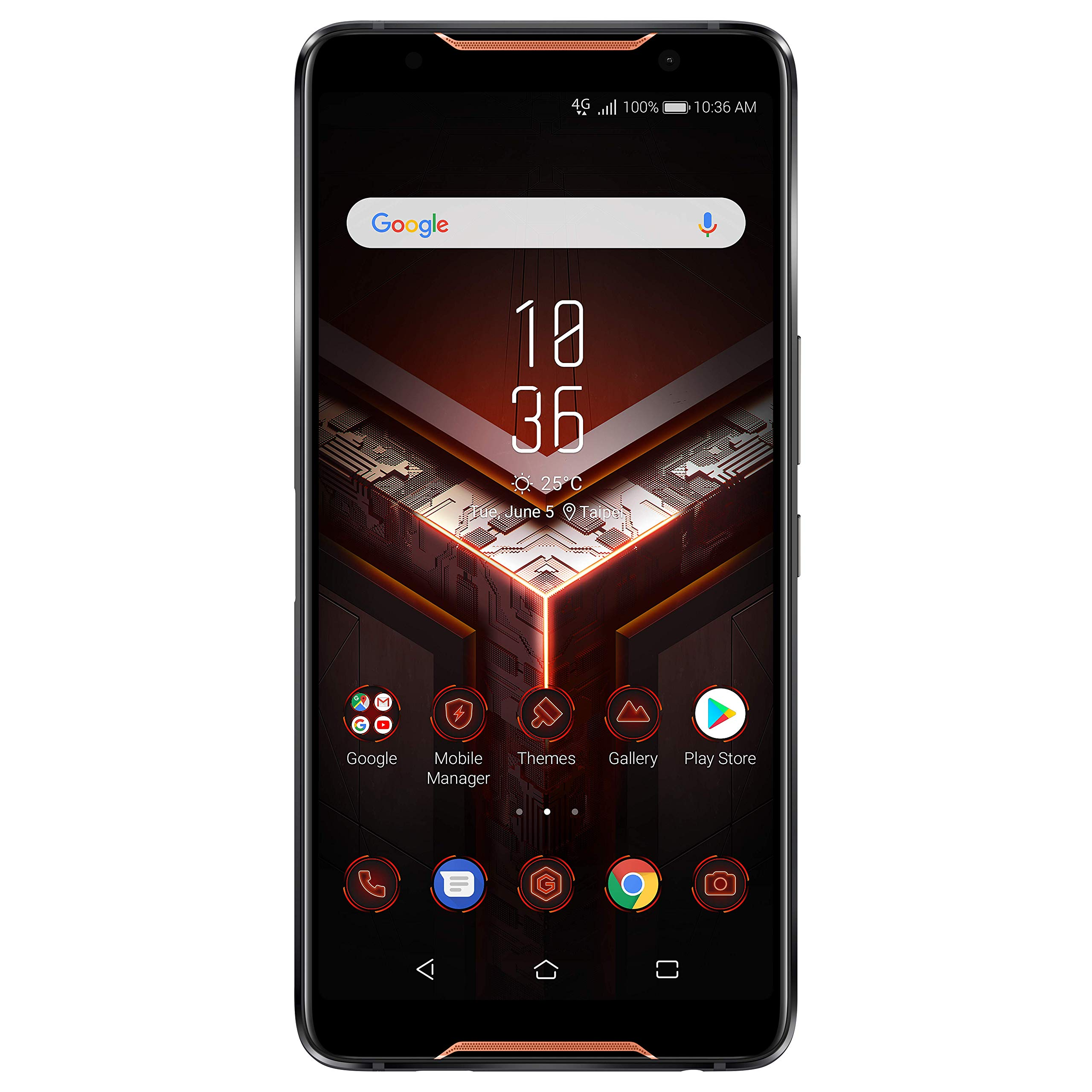 """ASUS ROG Gaming Phone ZS600KL (Snapdragon 845, 8GBRAM, 128GB Storage, Dual-SIM, Android, 6"""" inch) (GSM Only, No CDMA) Fact..."""
