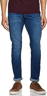 Wrangler Men's Skinny Fit Jeans (W38481W22SMU_JSW-Indigo_32W x 33L)
