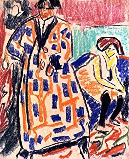 Self-Portrait with Model by Ernst Ludwig Kirchner - 20