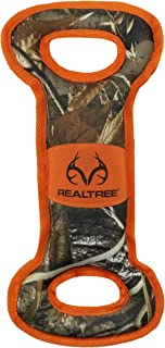DOG CHEW & SQUEAK TOY - REALTREE Licensed - Premium Quality Pet Toy with Hunting & Camouflage Design. Durable Nylon Dog To...