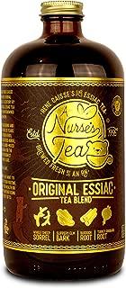 Essiac Detox Tea | Brewed 32oz | 20% Sheep Sorrel Roots | Rene Caisse Organic