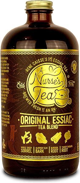 Essiac Detox Tea Brewed 32oz 20 Sheep Sorrel Roots Rene Caisse Organic