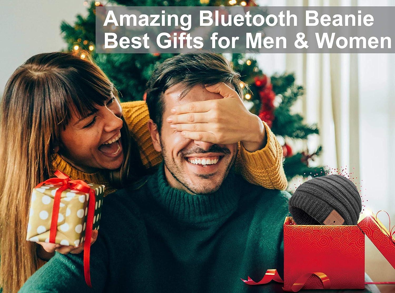 Bluetooth Beanie Novelty Headwear Christmas Stocking Stuffer Gifts for Men Women