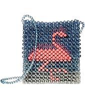 Beaded Critter Crossbody Bag