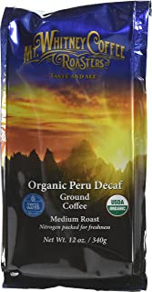Mt. Whitney 咖啡壶 法国黑野兽咖啡色 Organic Peru Swiss Water Process Decaf 1.5 pounds