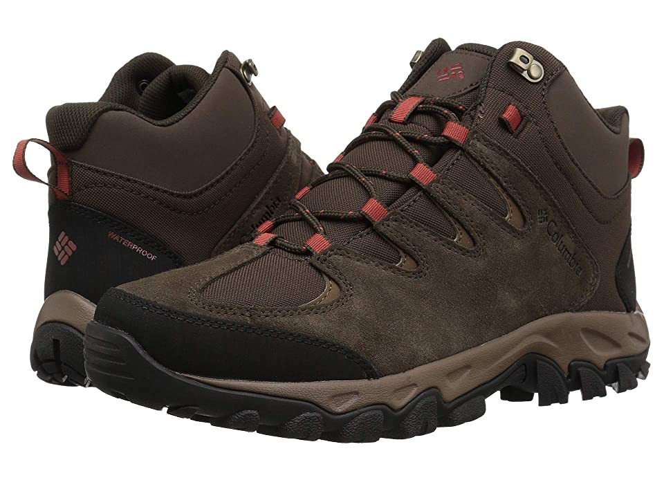 Columbia Buxton Peaktm Mid Waterproof (Cordovan/Rusty) Men