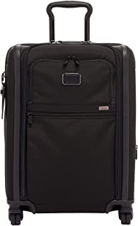 TUMI - Alpha 3 Continental Dual Access 4 Wheeled Carry-On Luggage - 22 Inch Rolling Suitcase for Men and Women - Black