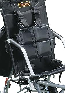 Drive Medical Full Torso Vest for Wenzelite Trotter Mobility Rehab Stroller, Black