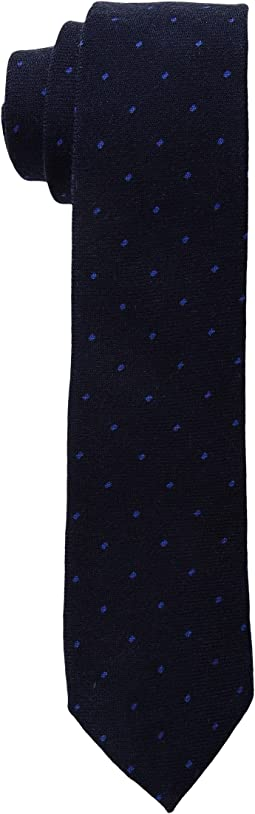 Scotch & Soda - Knitted Tie in Wool Quality with Mini All Over Print
