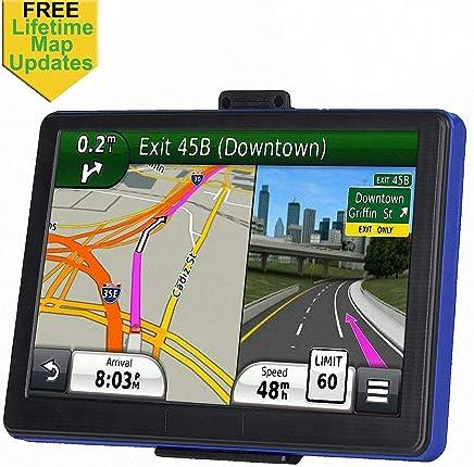 GPS Navigation for Car, 7 inch 8GB Lifetime Map Update Spoken Turn-to-Turn Navigation System for Cars, Vehicle GPS Navigator Lifetime Free Maps