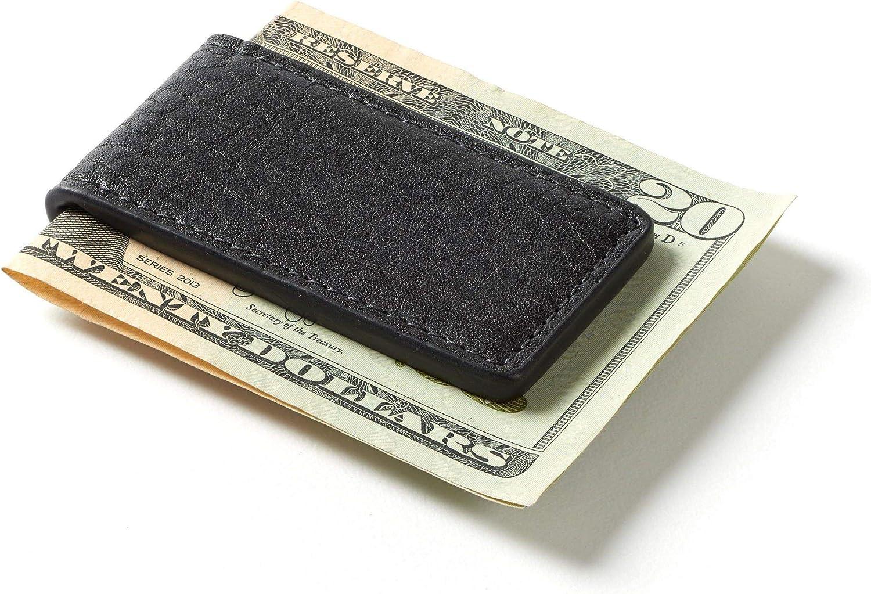 Leatherology Ebony Men's Magnetic Money Clip