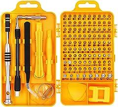 Conjunto de chaves de fenda magnética de precisão, 20190321-01, Amarelo