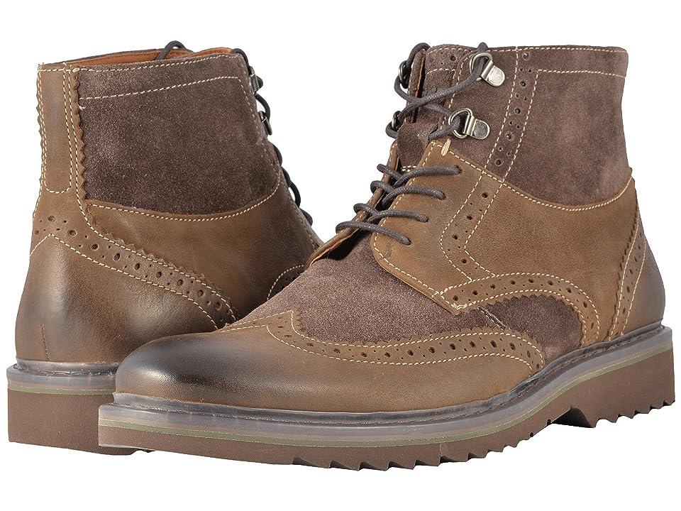 Rockport Jaxson Wingtip Boot (Brown) Men