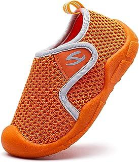 Zapatillas de Estar por Casa para Niños Niña Zapatos de Interior Antideslizantes Zapatillas de Punto Transpirable Zapatos ...