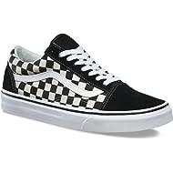 Unisex Checkerboard Old Skool Lite Blk/White Checkerboard Slip-On - 11