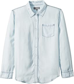 "Olivia Shirt with ""Brunch Crew"" On Collar (Big Kids)"