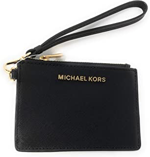 4274416c2d02 Michael Kors Jet Set Travel Top Zip Coin Pouch ID Card Case Wallet Wristlet