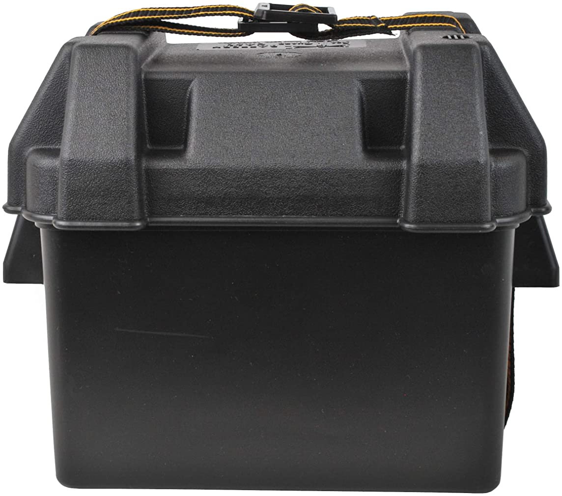 Attwood Corporation 9082-1 Small Battery Box, Black