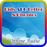 Kids ABC Letter N Phonics (Offline Audio)
