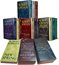 The Wheel of Time, 15 Book Set: New Spring, Eye the World, Great Hunt, Dragon Reborn, Shadow Rising, Fires Heaven, Lord Ch...
