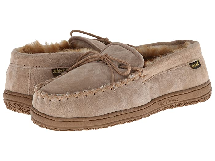 Old Friend  Loafer Moccasin (Chestnut/Stony) Mens Slippers