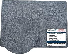 100 wool ironing mat