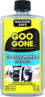 Goo Gone Coffee Maker Cleaner - Safely Removes Residue - 16 Fl. Oz