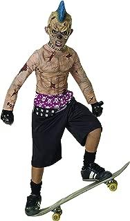 Rubie's Child's Zombie Punk Costume, Skater, Small