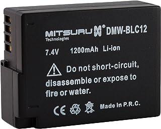 Mitsuru batería para Panasonic BLC-12 DMW-BLC12 recambio para Panasonic Lumix FZ200 G5 G6GH2 DMC-FZ300 DMC-FZ1000 DMC-G70