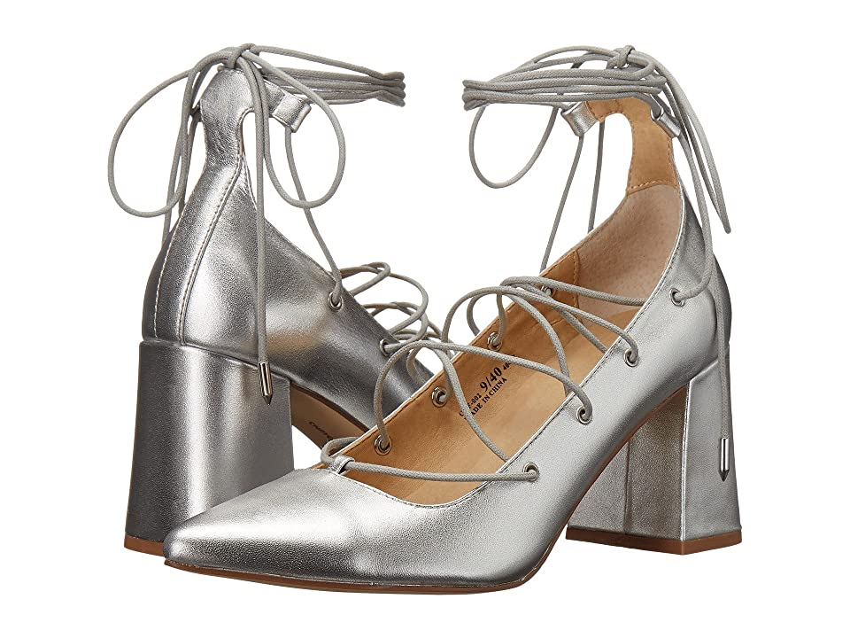 Chinese Laundry Odelle (Silver Metallic) High Heels