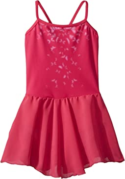 Bloch Kids Printed Bodice Mesh Skirted Leotard (Toddler/Little Kids/Big Kids)