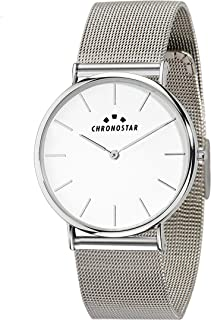 Chronostar R3753252509 Preppy Year Round Analog Quartz Silver Watch