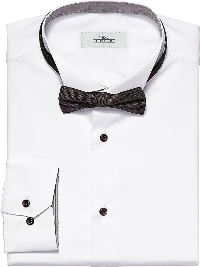 next Conjunto de camisa para hombre con cuello alado y ...