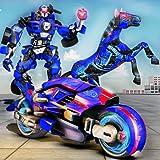 Transformación robótica del robot del caballo